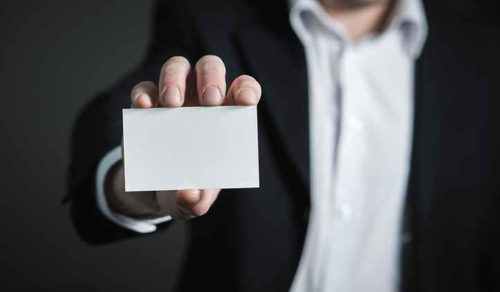 Empty ID Card