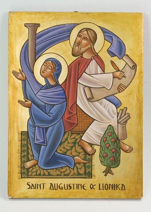 Saint Monica and Saint Augustine